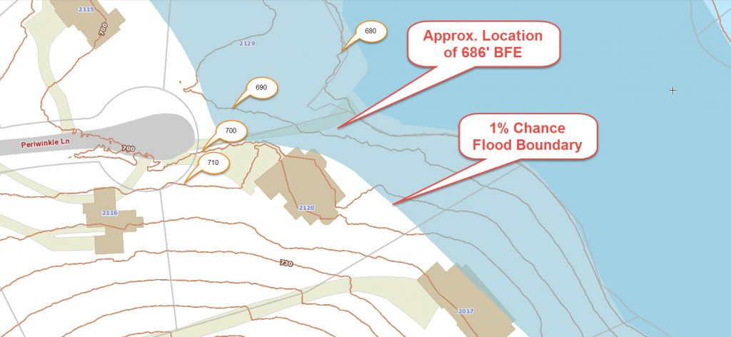 flood mapping gis map - flood hazard